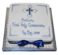 Communion Cakes For Boys Boys First Communion Cakes, Boy Communion Cake, Christening Cake Boy, Christening Cakes, Baby Baptism, Baptism Ideas, Christian Cakes, Dedication Cake, Cake Paris