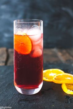 Negroni Fizz-a lighter take on the Italian classic!