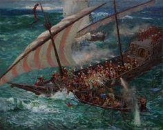 Zaporozhye Cossacks boarded the Turkish ship.100х80sм.2011