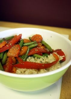 Vegetarian Delight- Simple stir fry!  fry veggies and add 2 TB soy sauce and sugar as sauce
