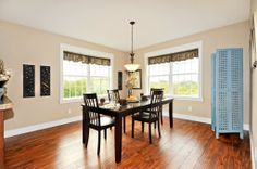 Morning room or eat in kitchen nook in the Wiltshire NH366A - Manorwood Modular Home