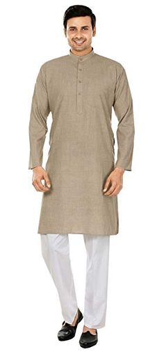 Maple Clothing Wool Blend Cotton Kurta Pajama Mens Indian Dress