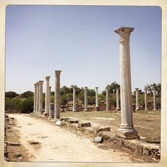 Salamis Archaeological Site is located on the east coast of Cyprus, and it's about eight kilometers north of the modern city of Famagusta. North Cyprus, Modern City, Archaeological Site, Holiday Activities, Yoga Retreat, Oh The Places You'll Go, East Coast, Villas, Apartments