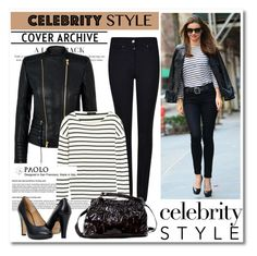 """""""Celebrity in PaoloShoes"""" by spenderellastyle ❤ liked on Polyvore featuring Kerr®, Armani Jeans, Balmain and J.Crew"""