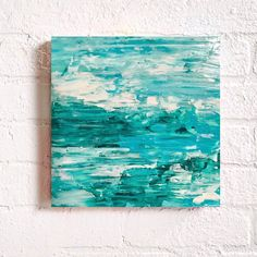 A personal favorite from my Etsy shop https://www.etsy.com/listing/541171176/original-abstract-texture-coastal