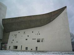 Le Corbusier's Ronchamp, Vandalized