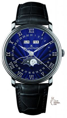 www.watch insider.com | reportages news | The watch insider.com 2013 Christmas selection | Blancpain Villeret Quatieme Complet 581x1024