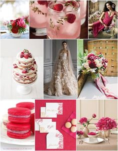 Weddbook is a content discovery engine mostly specialized on wedding concept. You can collect images, videos or articles you discovered  organize them, add your own ideas to your collections and share with other people - Now it might not be summer until 21st June, but I can feel those first warm dusky night calling. So I have just the thing for you today with my Raspberry wedding ideas, perfect for those summer months. The essence of this wedding style and colour palette is truly a…