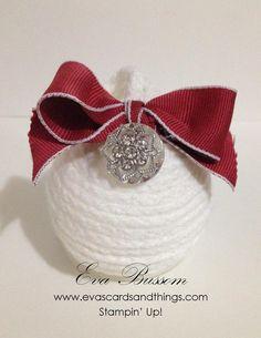 White Sparkles Ornament
