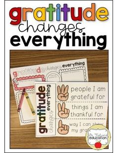 Gratitude changes everything. The daily practice of gratitude has many benefits. This classroom guidance lesson on gratitude encourages and starts the conversation of the daily practice of gratitude, being thankful, and showing that you are grateful. Elementary Counseling, Career Counseling, School Counselor, Elementary Schools, Teaching Character, Character Education, Gratitude Changes Everything, Guidance Lessons, Physical Education Games