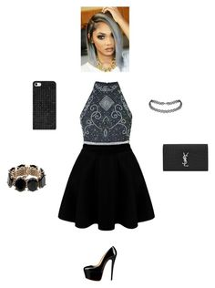 """""""Untitled #66"""" by thisagiperera ❤ liked on Polyvore featuring BERRICLE, Yves Saint Laurent, BaubleBar and Valentino"""
