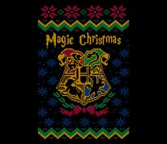 Magic Christmas   Harry Potter   TeeFury