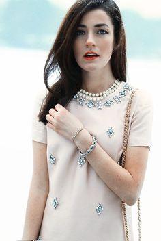 Classy Girls Wear Pearls: Winter Sparkle Reflections