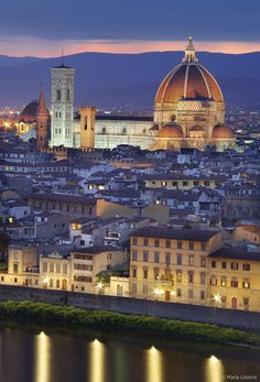 Florence, Italy - beautiful in it's own way, Slower than Rome or Venice and easier to walk around. A true place for romantics and art lovers.