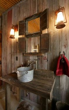 46 Bathroom Interior Designs Made In Rustic Barns | Daily source for inspiration and fresh ideas on Architecture, Art and Design
