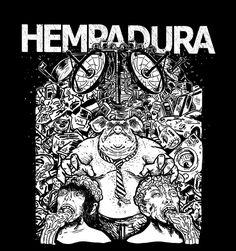 estampa camisa banda Hempadura