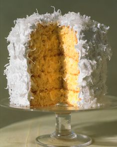 Coconut Layer Cake: This recipe yields a six-layer cake. However, if you prefer the look of five layers, the extra cake layer makes a delicious snack.