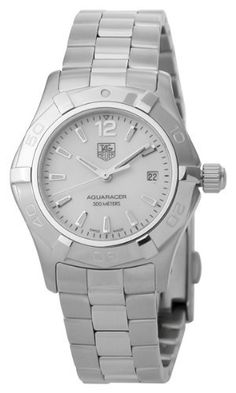 Best Buy TAG Heuer Womens WAF1414.BA0823 Aquaracer Stainless Steel Mother-of-Pearl Dial Watch at http://get.nazuka.net/review/product.php?asin=B002D05Z7I