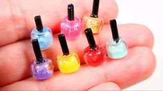 DIY Miniature Nail Polish