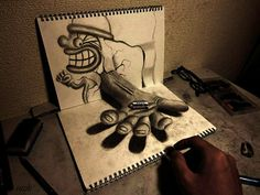 Incredible 3D Pencil Drawings by Nagai Hideyuki | Bored Panda  #art #amazing