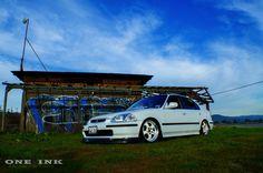 RHD 1996 Civic sedan with CTR bumpers Honda Civic Sedan, Inspiration, Biblical Inspiration, Inspirational, Inhalation