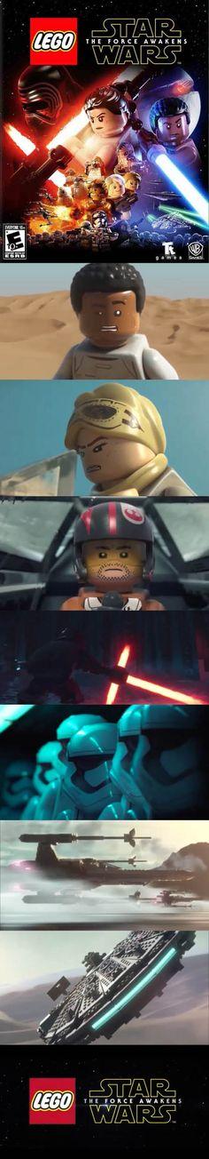 Lego Star Wars The Force Awakens Playstation, Xbox, Lego Games, Lego Star Wars, Starwars, More Fun, Microsoft, Video Game, Nintendo