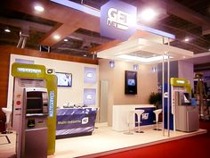 ATM material for GET NET (Financial Services).