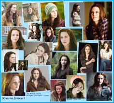 Kristen as Bella Swan from Twilight, New Moon and Eclipse