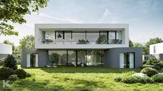 Modern single-family house 3 on Behance