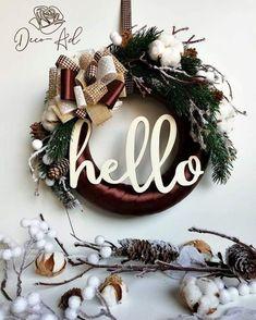 coronita pentru usa Christmas Wreaths, Album, Holiday Decor, Home Decor, Corona, Decoration Home, Room Decor, Advent Wreaths, Interior Decorating