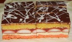 Zákusok je výborný, pečiem ho sporadicky na slávnostné príležitosti. Czech Recipes, Sweet Tooth, Cheesecake, Food And Drink, Dessert Recipes, Gluten Free, Cookies, Hampers, Glutenfree