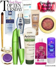 Beautysets - Top Ten Drugstore Beauty Products!
