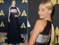 Margot Robbie In Prada - Academy Of Motion Picture Arts And Sciences' Scientific And Technical Awards Ceremony