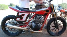 Kocinski's Rotax Dirt Tracker - Doesn't get much better than this. A Phil Darcy motor in a Ron Wood chassis.