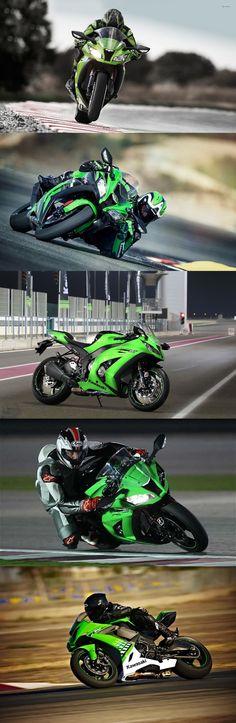 Kawasaki launched its super #Sports bike #Ninja #ZX_10R in Malaysia . #Kawasaki