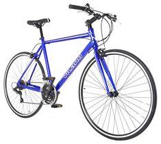 Road Bikes - Performance Hybrid Bike Flat Bar Road Bike Shimano 21 Speed 700c Bicycle >>> Read more at the image link.