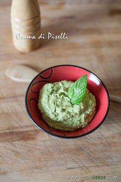 Crema di piselli e menta - Ricetta di ilPepeVerde.com