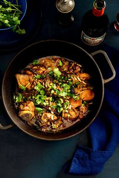 """NYT Cooking: Revered for its balance of sweet and savory flavors, the tagine journeyed from North Africa to France, a link to the country's colonial past. The fragrant stew gradually found its way into home kitchens. <span class=""""photo-video-credit"""">Photographs by Francesco Tonelli for The New York Times. Videos by Alexandra Eaton and Shaw Lash.</span>"""