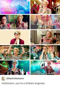 I swear when I saw Ashton's name was Holtzmann on the Girls Talk Boys vid I instantly knew they had made the right choice.