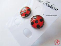 Pendientes de ladybug