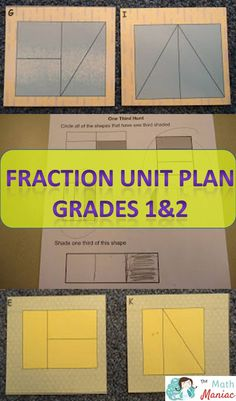 I love these games and activities to help students gain a better understanding of fractions. Everything you need to meet CCSS for grades 1 and 2 are included!
