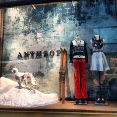 Anthropologie Christmas windows | NYC 2012