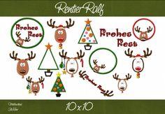 Ralf das Rentier ist ganz wild und will endlich das Weihnachtsfest feiern :)