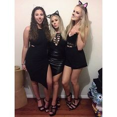 I love my basic bitches @amycooksley @_sallyjo_ #werecats #duh #shaaanxo