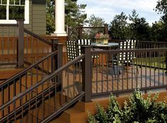 composite deck railing kits - at www.diyhomecenter.com