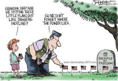 memorial day cartoon price freedom