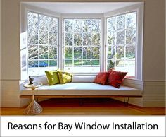 Bay Window Installation – Reasons to Get Bay Windows Bay windows are becoming more and more common in homes. Here are some of the top reasons to bay window installation for your home Read more about Reasons for Bay Window Installation at http://florianglass.com/bay-window-installation-reasons-to-get-bay-windows/