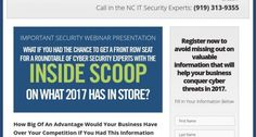 Raleigh Cyber Security Expert Hosting Cyber-Security Round-Table Webinar for North Carolina Business Owners