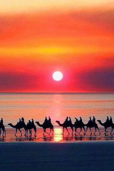 Sunset Western Australia.