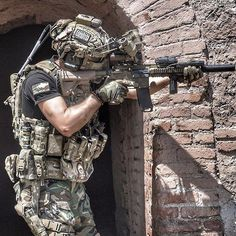 """""""I come in peace. But I'm pleading with you, with tears in my eyes; if you f*ck with me, I'll kill you all. Special Forces Gear, Military Special Forces, Military Women, Military Weapons, Military Police, Navy Seal Wallpaper, General James Mattis, Tactical Operator, Future Soldier"""